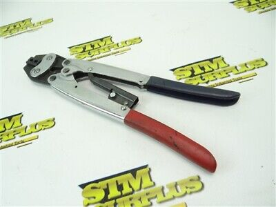 Nice Pair Of Ratcheting Crimpers 1.25 2.00