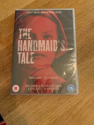 the handmaids tale season 1 dvd 4 Discs 10 Episodes Brand New In Cellophane