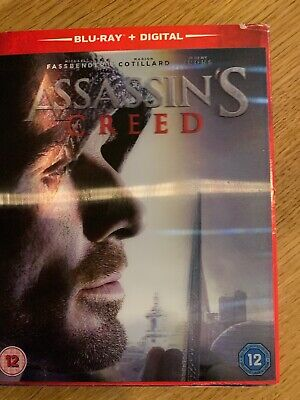 Assassins Creed Blu-ray and Digital Brand New  Cellophone Wrapped