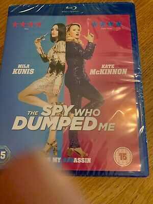 THE SPY WHO DUMPED ME (MILA KUNIS) BLU-RAY - PLUS SLIPCOVER Brand New Sealed