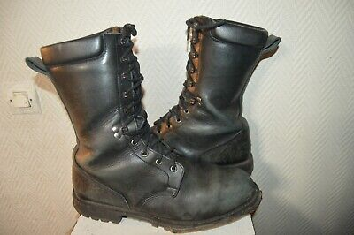 Armee BOOTS Taille CHAUSSURE Marbot Botte RANGERS Cuir 46 rthCsQd
