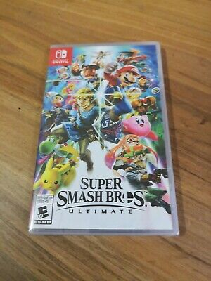 Brand New Sealed Super Smash Bros Ultimate Nintendo Switch