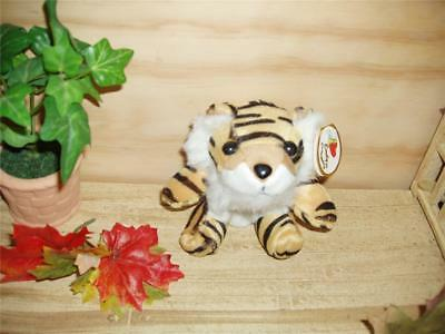 "Schools mascots Spirit gifts,Tigers,Plush Key Chains or Belt Coin Purse 8"" Emily"
