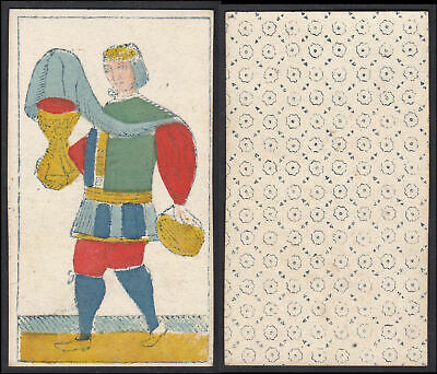 Tarot Spielkarte playing card Original 18th century carte a jouer
