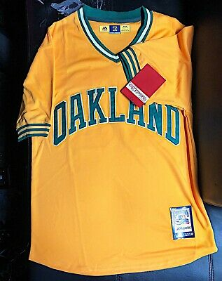 separation shoes 81052 aaa93 JOSE CANSECO #33 Oakland Athletics Stitched Throwback Jersey Size XL (48)  w/Tags
