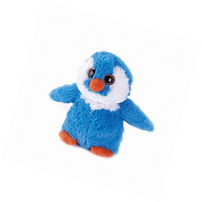 INTELEX WARMIES Microwave Lavender Scented Soft Toy - Cozy Plush Penguin Blue