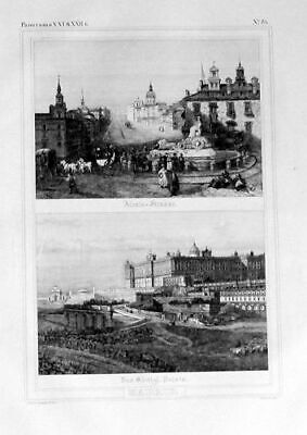 1835 - Madrid Espana Original Lithograph 104272