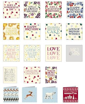 Emma Bridgewater Greetings Cards Birthday Wedding Occasions Baby Christmas