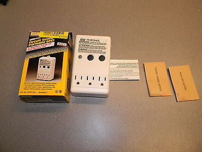 Hubbell GFP315A 15A Plug-In Portable GFCI Ground Fault Circuit Interrupter