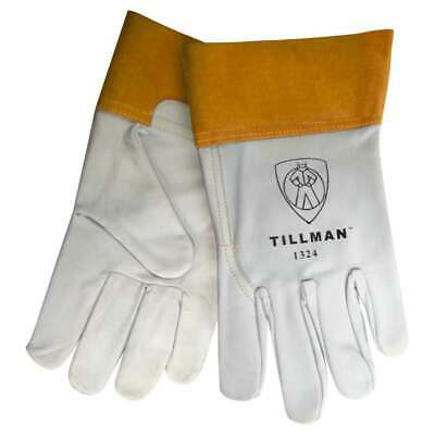 "Tillman 1324 Top Grain Goatskin TIG Welding Gloves 2"" Cuff, Medium"