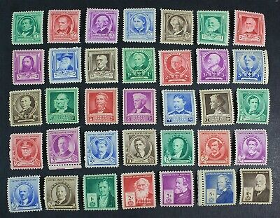 CKStamps: US Stamps Collection Scott#859-893 (35) Mint NH OG