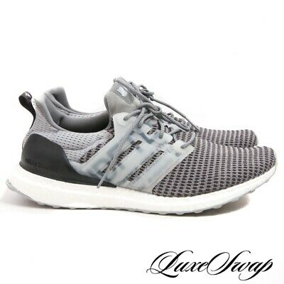 86593ad45f8 LNWOB Adidas Undefeated UNDFTD CG7148 Ultra Boost Clear Onix Grey Sneakers  11.5