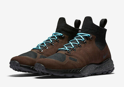 new product 191cf c62cb NIKE ZOOM TALARIA MID FLYKNIT Baroque Brown Hiking Shoes MENS 9.5 43  856957-200