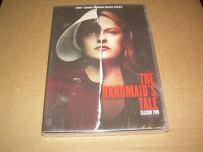 Complete Second Season 2 Two NEW Sealed THE HANDMAID'S TALE DVD 2018 4-DISC SET