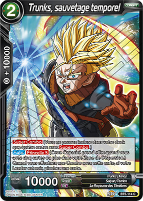 Surveillance Draconienne BT5-088 FOIL C//VF Jaco Dragon Ball Super Card Game