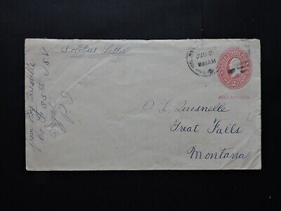1900 Philippines Miltary Station Soldier Letter > Montana ! Spanish American War