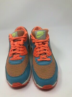 236d00447e KID'S NIKE AIR Max 90 Athletic Shoes Girl's Size 2Y Multi-Color ...