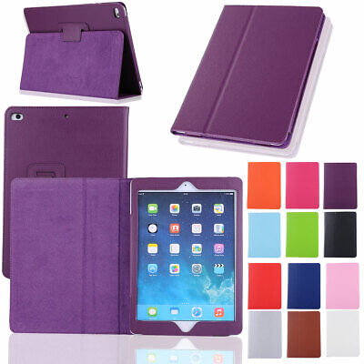 For Apple iPad 9.7 6th Generation 2018 / 5th 2017 Soft Leather Smart Cover Case