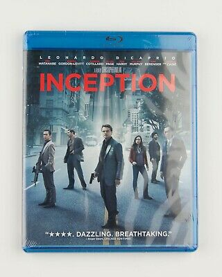 2010 INCEPTION new in package Blu-ray Leonardo DiCaprio Ellen Page