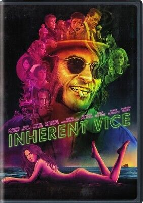 INHERENT VICE New Sealed DVD