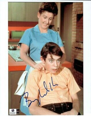 Barry Williams  Signed Autographed 8X10 Photo The Brady Bunch with Alice 806351