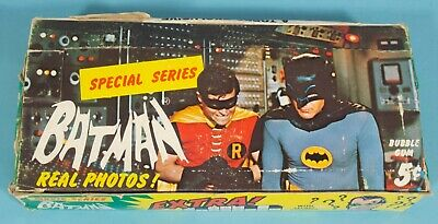 BATMAN Original 1966 Topps GUM CARD BOX MOVIE Adam West Burt Ward