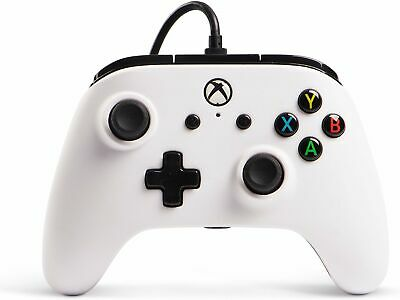 Enhanced Wired Controller for Xbox One - White