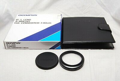 【Mint】OLYMPUS IS/L LENS A-MACRO HQ CONVERTER f 40cm IN Pouch Box