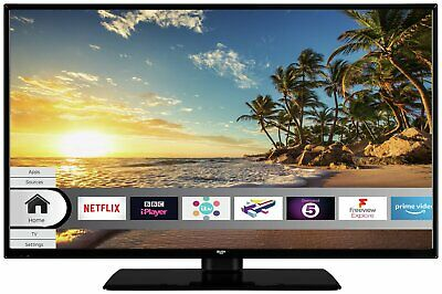 Bush DLED40FHDS 40 Inch Full HD 1080p Smart WiFi LED TV - Black