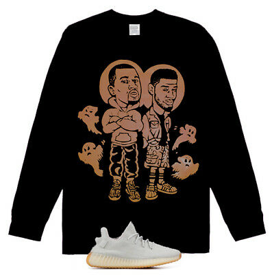 Long SLeeve Kids See Ghosts Kanye West shirt Yeezy Boost 700 V2 Geode Tu