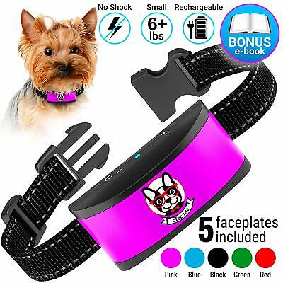 Small Dog Bark Collar Rechargeable - Anti Barking Collar For Small Most Humane