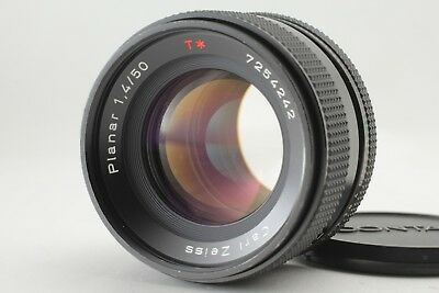 【EXC++++】Contax Carl Zeiss Planar T* 50mm F/1.4 MMJ MF Lens From Japan #89