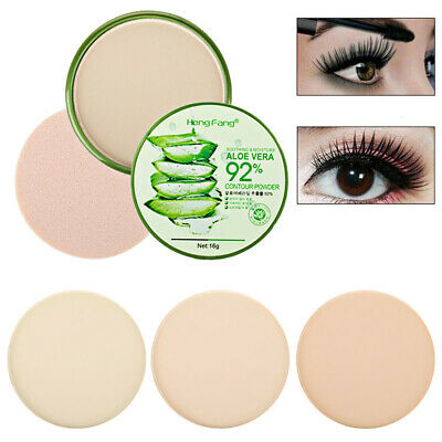 Powder  Foundation Facial MakeUp Beauty Cosmetic Face Loose Powder With Puff