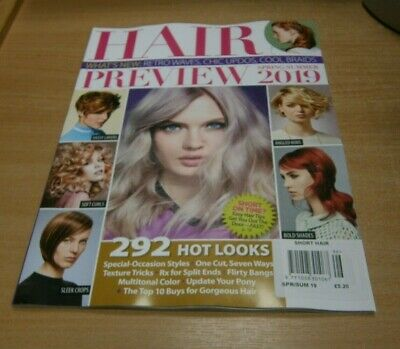 Short Hair Style Guide magazine #96 Spring/Summer 2019 Preview; Retro Waves Chic