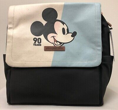 Petunia Pickle Bottom Boxy Baby Diaper Bag Backpack Mickey's 90th Color Planes