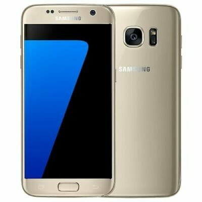 Samsung Galaxy S7 - 32GB - Gold Platinum (Unlocked) Smartphone