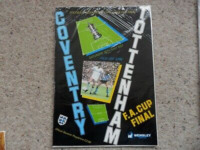 Coventry City v Tottenham Hotspur 1986-1987 May. 16th F A Cup Final