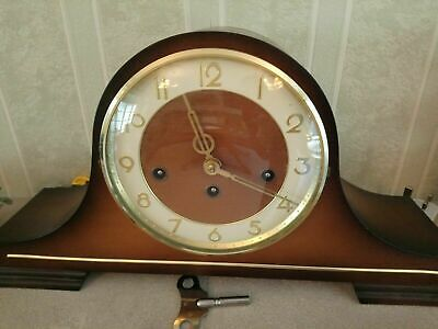 Franz Hermle Napoleon Hat Mantle Clock With Westminster Chime