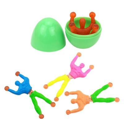 Kids Easter Eggs Filled with Cartoon Figure Easter Party Game Children N4U8