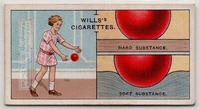The Physics Of Why Rubber Balls Bounce 80+  Y/O Ad Trade Card