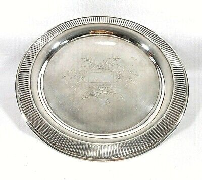 Silver Plate Wilcox Aesthetic Movement Tray, ca. 1870-80's-Replated