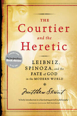 NEW The Courtier and the Heretic By Matthew Stewart Paperback Free Shipping