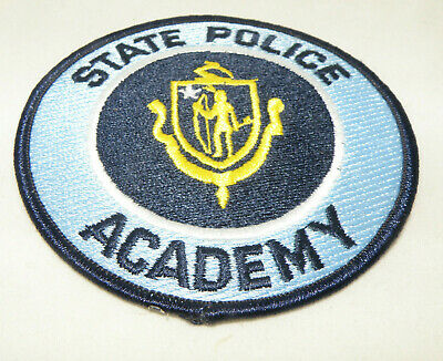 MASSACHUSETTS STATE POLICE Academy Patch - New