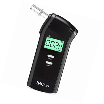 BACtrack S80 Breathalyser | Professional-Grade Accuracy | DOT & NHTSA Approved |