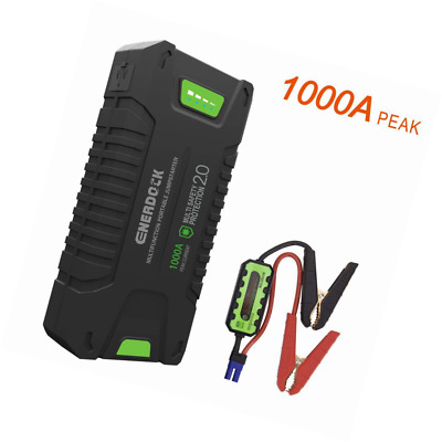 Car Jump starter, Picowe 1000A Peak Ampere Portable Pack Full Support ALL Gas Ve