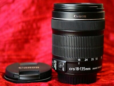 Canon EF-S EFS 18-135mm f/3.5-5.6 IS STM Zoom Lens - New