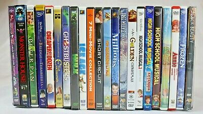Children Family Movies DVD Assortment