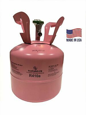 R410a, R-410a R 410a Refrigerant 7.5lb tank. New Factory Sealed *(Made in USA)*