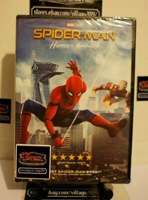 Spider-Man: Homecoming  NEW DVD FREE SHIPPING!!