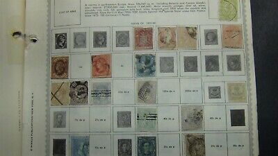 Spain & Area stamp collection on Minkus / various pages w/ 3,300 or so stamps